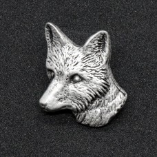 German Hatpin Fox Head - TEMPORARILY OUT OF STOCK