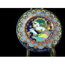 Vintage 1976s Bjorn Wiinblad Angel with trumpet German Porcelain
