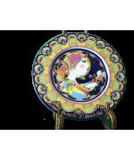 Vintage 1980s Bjorn Wiinblad Angel with Glockenspiel German Porcelain