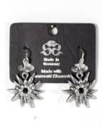 Edelweiss Dangle Earrings Swarovski