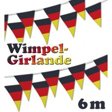 German - Wimpel Girland