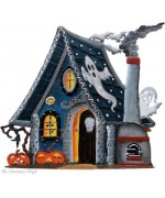 TEMPORARILY OUT OF STOCK - Wilhelm Schweizer Halloween Ghost House