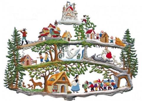 Maerchenwald Fairytale Forest Fairytale Pewter Wilhelm Schweizer