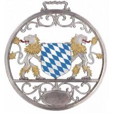 Bayerisches Wappen Window Wall Hanging Wilhelm Schweizer