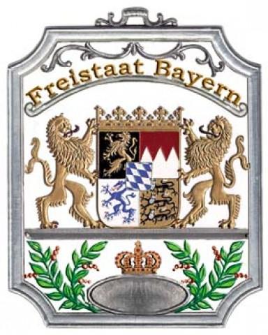 Freistaat Bayern Window Wall Hanging Wilhelm Schweizer