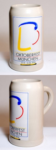 The Official Munich Oktoberfest-Stein 1994 Beerstein - 1,0 Liter