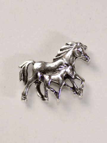 Horses Trotting Pin - TEMPORARILY OUT OF STOCK