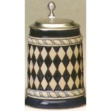 Oktoberfest Beer Stein Bavarian Pattern 0.5 L