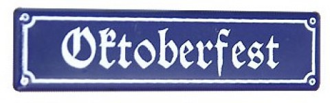 Oktoberfest Decorative Sign