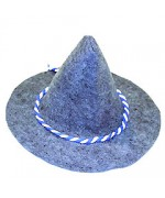 TEMPORARILY OUT OF STOCK - German Oktoberfest Felt SEPPEL Hat Munich