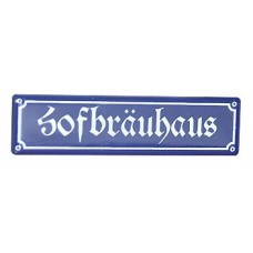 TEMPORARILY OUT OF STOCK - Hofbrauhaus Decorative Sign