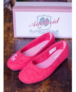 TEMPORARILY OUT OF STOCK Adelheid 'Edelweiss' Women's Slippers