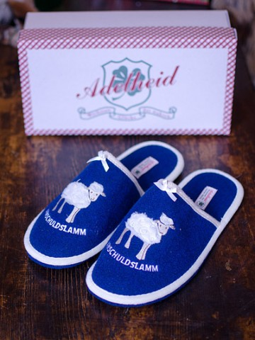 TEMPORARILY OUT OF STOCK Adelheid 'Unschuldslamm'  Women's Slippers
