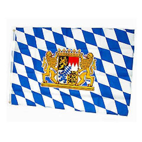 Oktoberfest Bavarian Flag Bayrische Fahne Germany