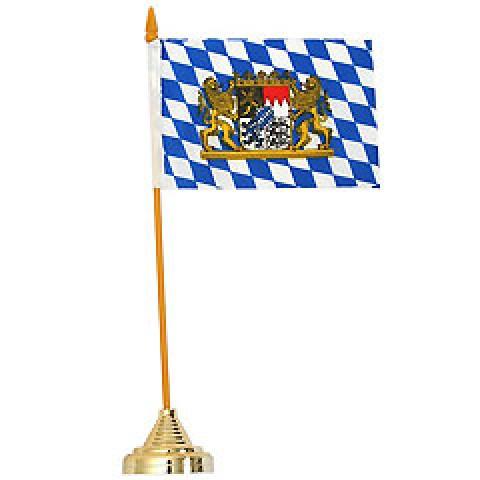 Bavarian Table Flag