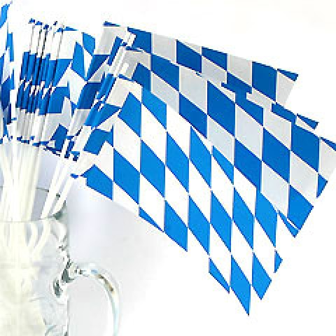 Bavarian Paper Flags