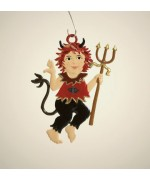 Little Devil Hanging Ornament Wilhelm Schweizer