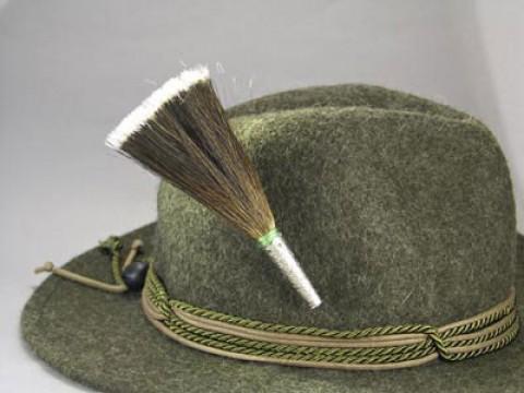 German Mountain Goat Brush ' Hat Pin '