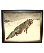 Kurt Meyer-Eberhardt 'Fox in the Snow'