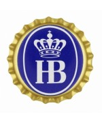 Hofbrauhaus  Gold Bottle Cap  Magnet -TEMPORARILY OUT OF STOCK