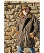 TEMPORARILY OUT OF STOCK MEINDL of GERMANY Leather and Shearling Jacket