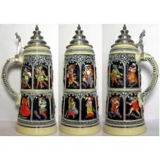 Medieval Months 2 L Beer Stein