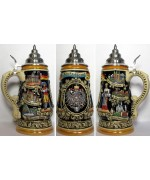 TEMPORARILY OUT OF STOCK - Deustchland Stein 1 L Beer Stein