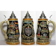 Deustchland Stein 1 L Beer Stein