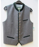 German Men's Vest Hammerschmid Green Trim
