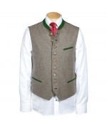 German Men's Vest Grasegger Green