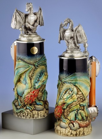 Dragon Treasure 0.75 L Beer Stein