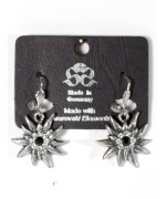 Edelweiss Dangle Earrings Swarovski