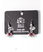 Octoberfest / Oktoberfest Jewelry Edelweiss Earrings