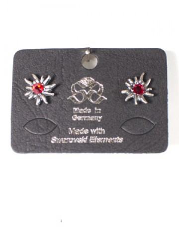 Octoberfest / Oktoberfest Jewelry Edelweiss Earrings