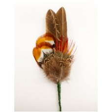 TEMPORARILY OUT OF STOCK - German Feather Hat Pin