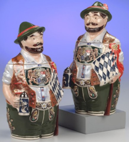 Bavarian Man OKTOBERFEST 0.75 L Beer Stein - TEMPORARILY OUT OF STOCK
