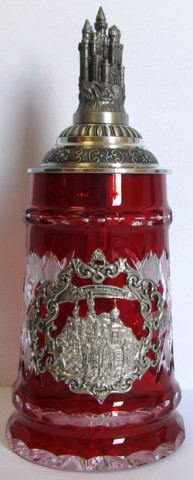 Red Lord of Crystal 0.5 L. Beer Stein