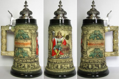 The Walt German King Beer Stein