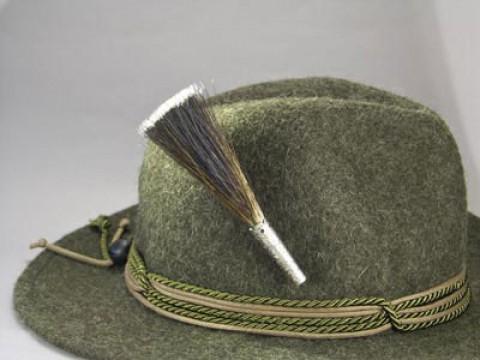 Mountain Goat Bristle Brush ' Hat Pin '