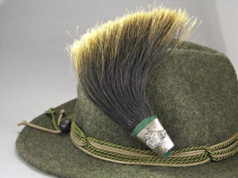 German Wild Boar Brush Hat Pin - TEMPORARILY OUT OF STOCK