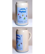 TEMPORARILY OUT OF STOCK<BR>The Official Munich Oktoberfest-Stein 2006 Beerstein - 1,0 Liter