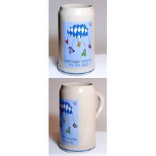 The Official Munich Oktoberfest-Stein 2006 Beerstein - 1,0 Liter