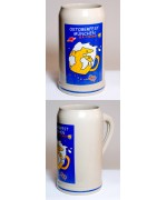 The Official Munich Oktoberfest-Stein 2001 Beerstein - 1,0 Liter