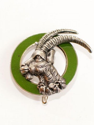 TEMPORARILY OUT OF STOCK - German Hatpin Stone ram Steinbock