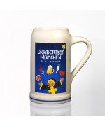 The Official Munich Oktoberfest 2012 Beerstein - 1,0 Liter