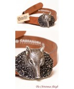 Fox Leather Belt  Cassandra Accesoires