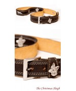 Foxes  Leather Belt