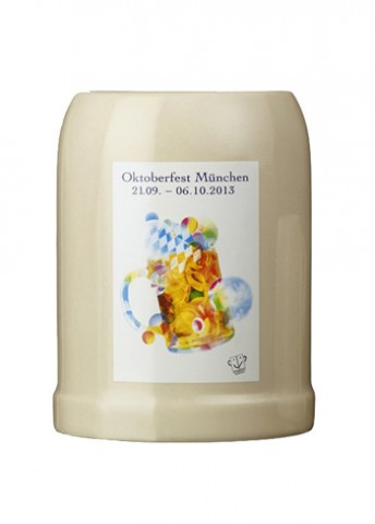 The Official Munich Oktoberfest 2013 Beerstein 0.5 Liter