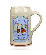 The Official Munich Oktoberfest 2011 Beerstein - 1,0 Liter
