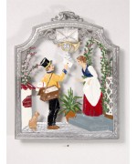 The Postman Window Wall Hanging Wilhelm Schweizer